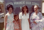 Cousin Tafa,Robert and Aunty Salote at Mokihana's graduation from high school in Grand Junction CO
