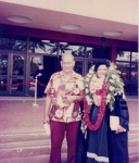 Uncle Vilai Su'a came to my graduation with lots of our family members.  I was so pleased that he was able to be with u