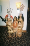 great great grandchildren of samila; Alo kids (l-r) Tina, Samila, Sao and Fa'aao