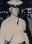 My dad Elemene when he was in the Marine Corp. this picture was taken in Hawaii while he was doing his rounds.  He was a