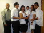 Wendall Siufanua and his daughter Cher Watanabe's family. Jase, Jayden, Jarvis and Emme[Jarvis girlfriend].2008