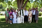 The Ava Family at Kanani & Sioeli's Wedding Day at the St. George LDS Temple. 6/27/09