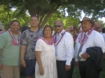 Keith Ava and cousins Willie, Wardell & Wilton Lolofie with cousin Oli Fiso Tuia at Kanani & Sioeli's wedding.